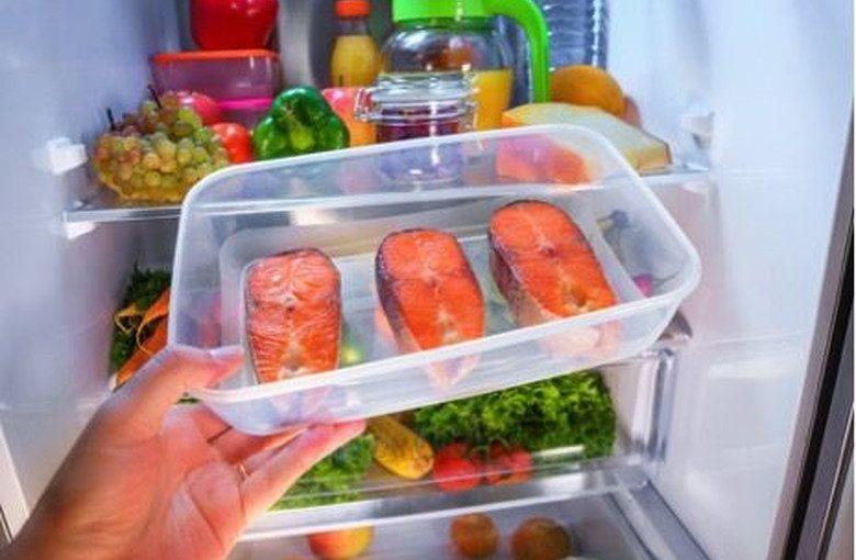 Lamanya Ikan Dapat Bertahan di Kulkas