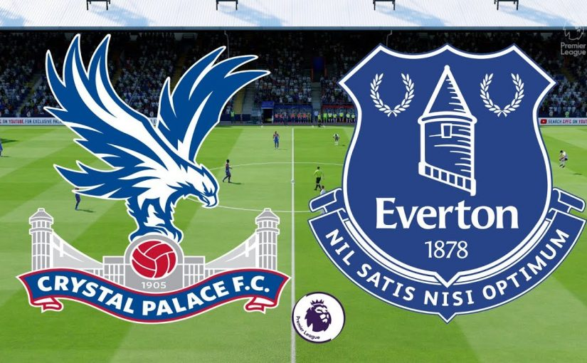 CRYSTAL PALACE VS EVERTON DI LIGA PREMIER