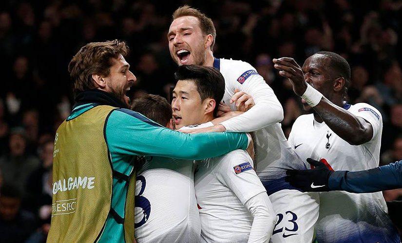 Tottenham Unggul 1-0 Saat Melawan Manchester City Di Liga Champions