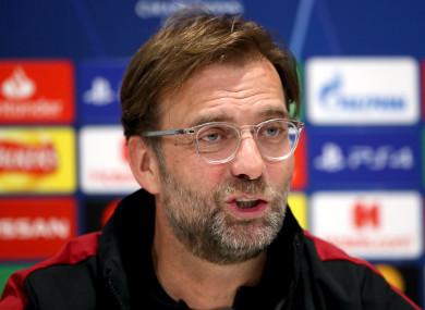Klopp Mencela Posisi Tentang Final dan Menunjuk kekuatan Ke Ajax