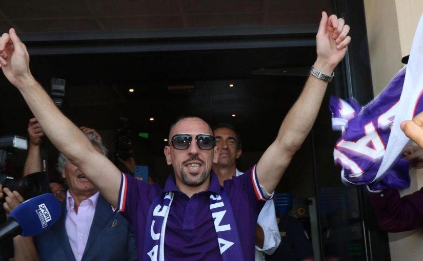 Ribery Memimpikan Karir Seperti Totti dan Masuk ke Tiga Besar Bersama Fiorentina