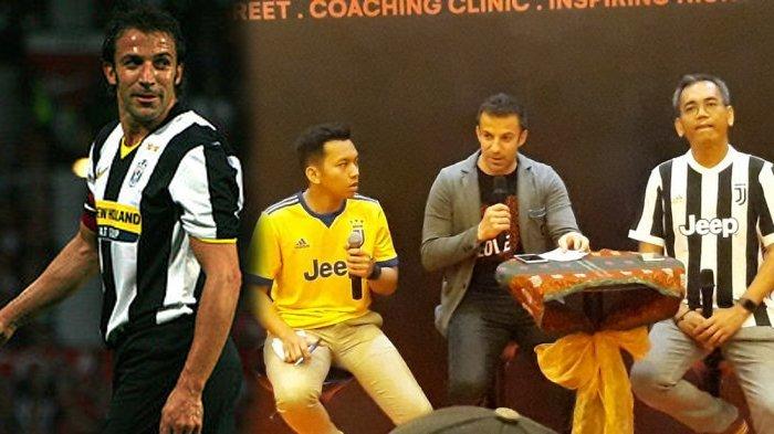 Del Piero Ternyata Pingin Main Bola di Pantai Bali Indonesia