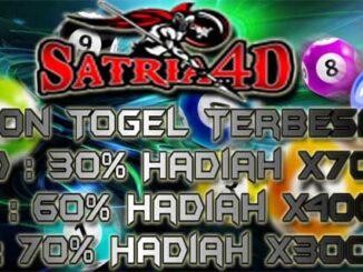 Satria4D - Bandar Togel Online